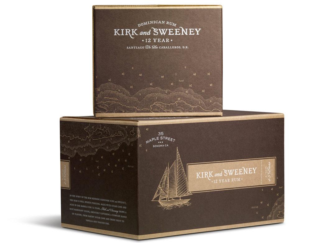 Kirk and Sweeney rum
