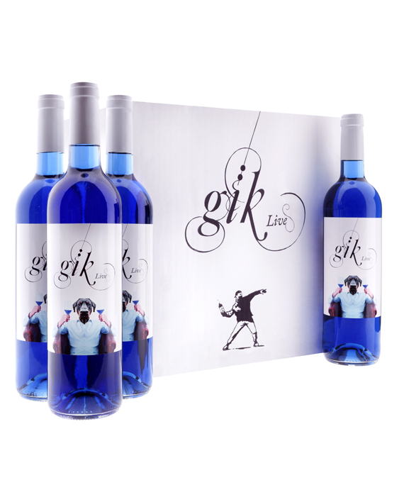 Gik blå vin
