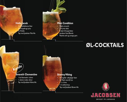 Carlsberg øl cocktails